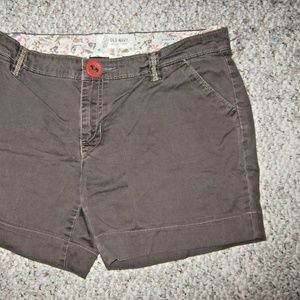 Old Navy Shorts - OLD NAVY STRETCH Brown 5 Pocket Shorts 10 REGULAR